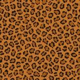 Картина повторения темного вектора печати леопарда животная иллюстрация вектора