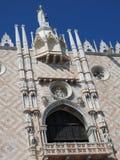 Квадрат Сан Marco с колокольней и базиликой Сан Marco Главная площадь старого городка Венеция, венето Италия стоковое фото
