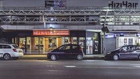 Китайский ресторан, Амстердам Голландия стоковые фотографии rf