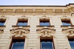 Красивая историческая архитектура города Санкт-Петербурга Детали и элементы  стоковая фотография