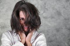 красивейшая возмужалая женщина стоковая фотография