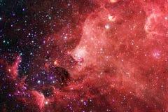 Красивейшая предпосылка космоса Искусство Cosmoc Элементы этого изображения поставленные NASA стоковые фото