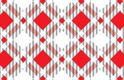 Красная и белая картина шотландки тартана Шотландская сплетенная картина Текстурируйте для: шотландка, скатерти, одежды, рубашки, бесплатная иллюстрация