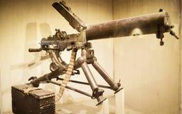 Красный музей форта оружий и оружий, Нью-Дели, 21-ое июля 2018: Оружия и оружия Showcased здесь в галереях включают стрелки, шпаг стоковая фотография rf
