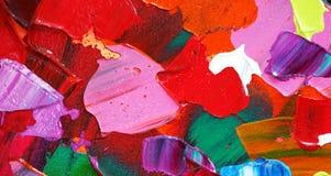 Крася текстура цвета Цвета предпосылки конспекта яркие художественные брызгают цвет предпосылки multi Художественное произведение стоковая фотография