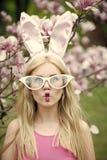 Красота, молодость и свежесть весной, пасха стоковая фотография rf