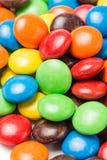 Красочные фасоли шоколада стоковое фото rf