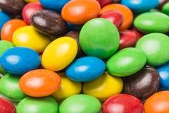 Красочные фасоли шоколада стоковые изображения rf