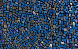 Красочный разрушенный булыжник, небольшие части стоковая фотография rf
