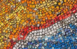 Красочный разрушенный булыжник, небольшие части стоковое фото rf
