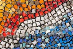 Красочный разрушенный булыжник, небольшие части стоковые фотографии rf