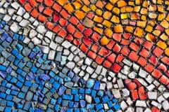 Красочный разрушенный булыжник, небольшие части стоковая фотография