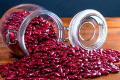 Красочное высушенное традиционное еды фасолей стоковая фотография rf