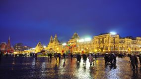 Кремль, красная площадь, традиционная ярмарка, торжество, праздник, неделя блинчика сток-видео