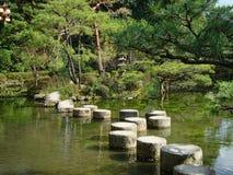 круглые камни в парке в Токио стоковая фотография