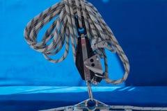 Крупный план на плавать веревочка стоковая фотография rf