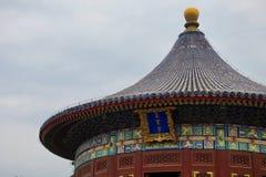 Крыша Temple of Heaven, Пекин, Китай стоковая фотография