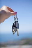 Ключ от машины stock photo