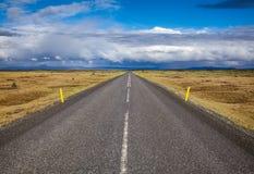 Кольцевая дорога северо-восточная Исландия Скандинавия маршрута 1 стоковые фотографии rf