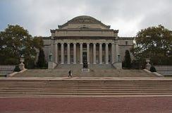 Колумбийский университет в городе Нью-Йорка стоковые изображения