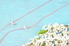 Концепция браслетов в марте стоковое фото