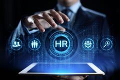 Концепция таланта рекрутства управления человеческих ресурсов HR стоковое фото