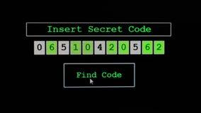 КОД НАХОДКИ кнопки зеленого цвета щелчка для генерации случайных номеров сток-видео