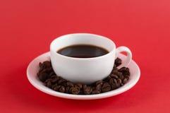 Кофе Americano черный стоковое изображение