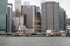 Корабли, NYC стоковое фото