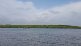 Лагуна на Negombo в Шри-Ланка стоковое изображение rf