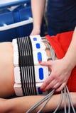 Лазер Lipo Косметология оборудования женщина воды спы здоровья ноги внимательности тела Не хирургическое тело ваяя обработка тела стоковое фото