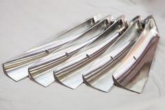 лезвия турбины - отдельно от двигателя стоковые фотографии rf