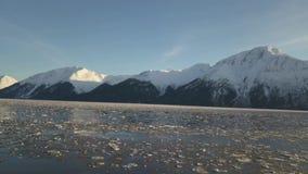 Лед двигая во вход Аляску повара акции видеоматериалы