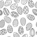 Линия картина яя для знамени пасхи иллюстрация штока