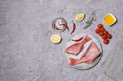 Луциан рыб сырцовый стоковые изображения rf