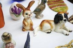 Ловкости Knick зайчика и яйца пасхи стоковые фотографии rf