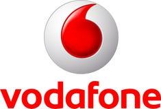 Логотип значка компании Vodafone бесплатная иллюстрация