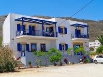 маленькая гостиница в Греции стоковое фото rf