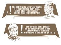 маска доктора хирургическая quotes шток померанца иллюстрации предпосылки яркий стоковое изображение