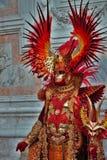 Масленица Венеции, портрет маски, во время венецианской масленицы во всем городе там чудесные маски стоковые изображения