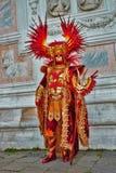 Масленица Венеции, портрет маски, во время венецианской масленицы во всем городе там чудесные маски стоковые изображения rf