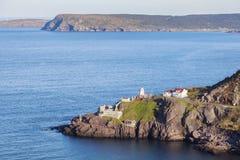 Маяк Амхорста форта в ` s St. John стоковые фото
