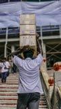 Местные коробки нося в Малайзии стоковые изображения