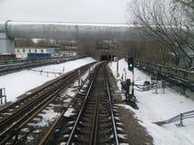 метро зимой Stock Images