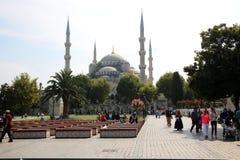 Мечеть Sultanahmet в Стамбуле стоковые фото
