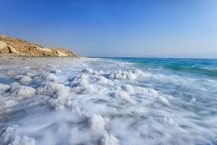 Мертвое море, Ein Bokek, Израиль стоковое фото rf