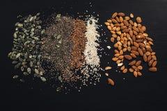 Много семена стоковые фотографии rf