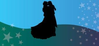Couple loving eps valentine wedding vector silhouette. Мы представляем векторный силуэт, на котором нарисована с Stock Photo