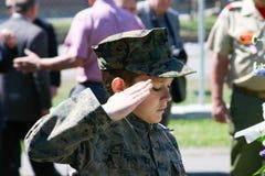 Молодой патриот стоковое изображение rf