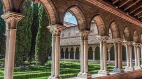Монастыри и прихожие, базилика Сан Sernin, Тулуза, Франция стоковые изображения